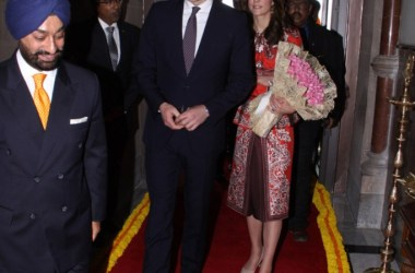Indian Feast for  Prince William and Kate Middleton, the Duke and Duchess of Cambridge