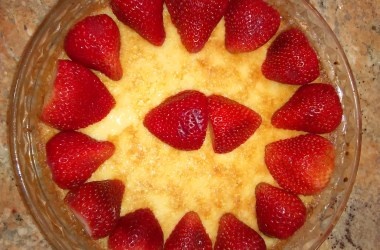 Sweet Symphony of Strawberries, Roses and Custard