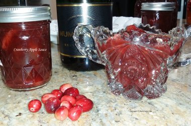 Pickled Cranberry Apple Sauce