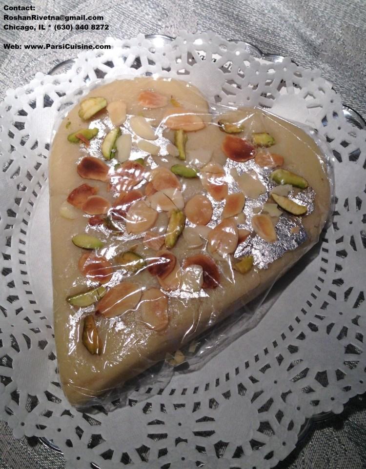 Heart-shaped Marzipan Penda