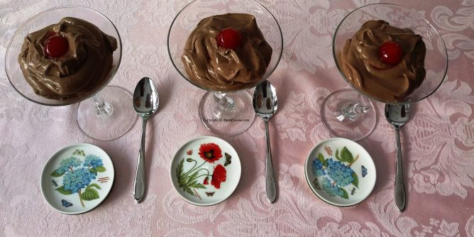 Dark Chocolate Truffle Mousse