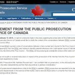 Director Of Public Prosecutions Canada SNC
