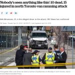 Toronto Van Murders 10 Terrorist