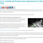 What Is A Deferred Prosecution Agreement