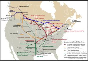 Canada Oil and Gas Pipelines