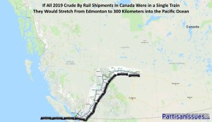 2019 Canadian Crude By Rail From Edmonton to Vancouver
