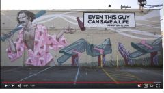 Coleman Sweeney Organ Donation Mural Video