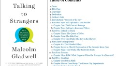 gladwell talking to strangers cover and contents