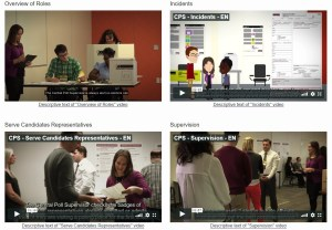 elections canada training videos