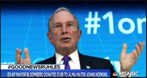 bloomberg gives $1.8B to Johns Hopkins