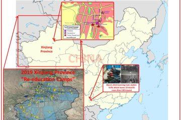 2009 to 2019 Modern Uyghur Crises In China Urumqi Kuanming Xinjiang Reeducation Camps