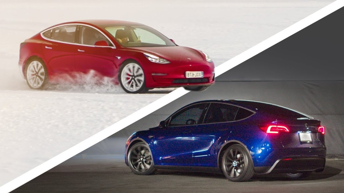 Tesla Model y vs 3