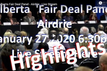 alberta fair deal panel-jan 27 2020 Highlights
