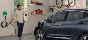 ev charging at home - chevy bolt