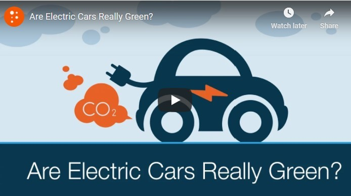 are evs really green