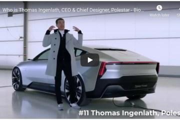 Thomas Ingenlath Polestar Volvo
