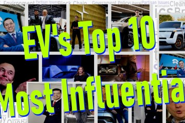 evs top ten most influential