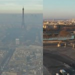 before and during covid smog in paris