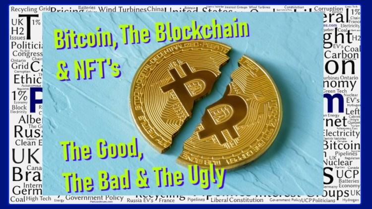 bitcoin blockchain nfts good bad ugly framed sm