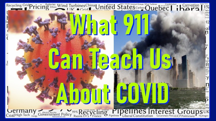 what 911 can teach us about COVID