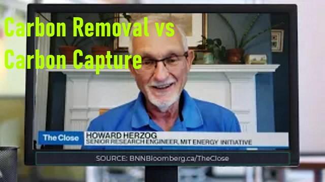 carbon capture vs carbon removal direct co2