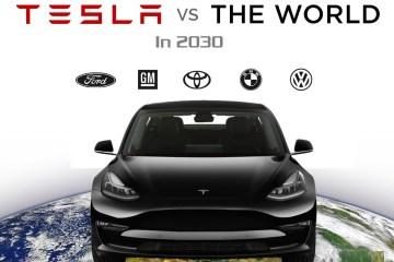 tesla vs the world in 2030