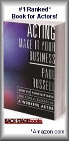 Paul's book ACTING: Make It Your Business!