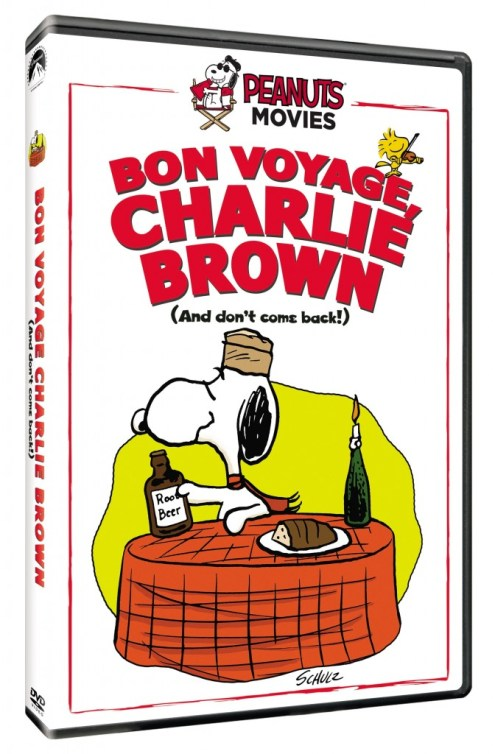 Bon Voyage Charlie Brown (And Don't Come Back!!) on DVD