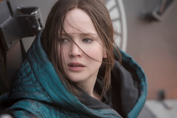 Jennifer Lawrence stars as Katniess Everdeen in Mockingjay Part 2