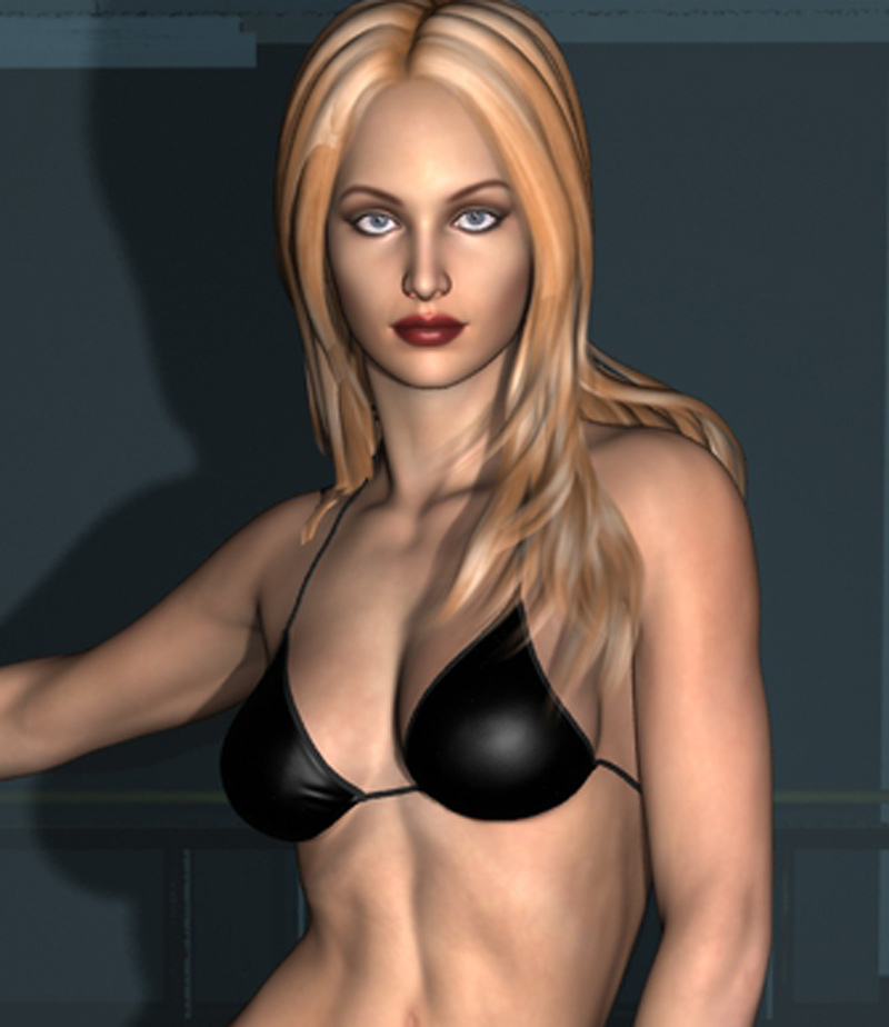Black Bikini Sabrina
