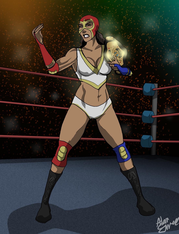 Fan Art Monday – Luchadora Lissandra
