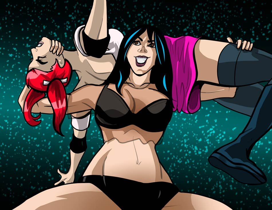 Commission Monday – Torture Rack Backbreaker