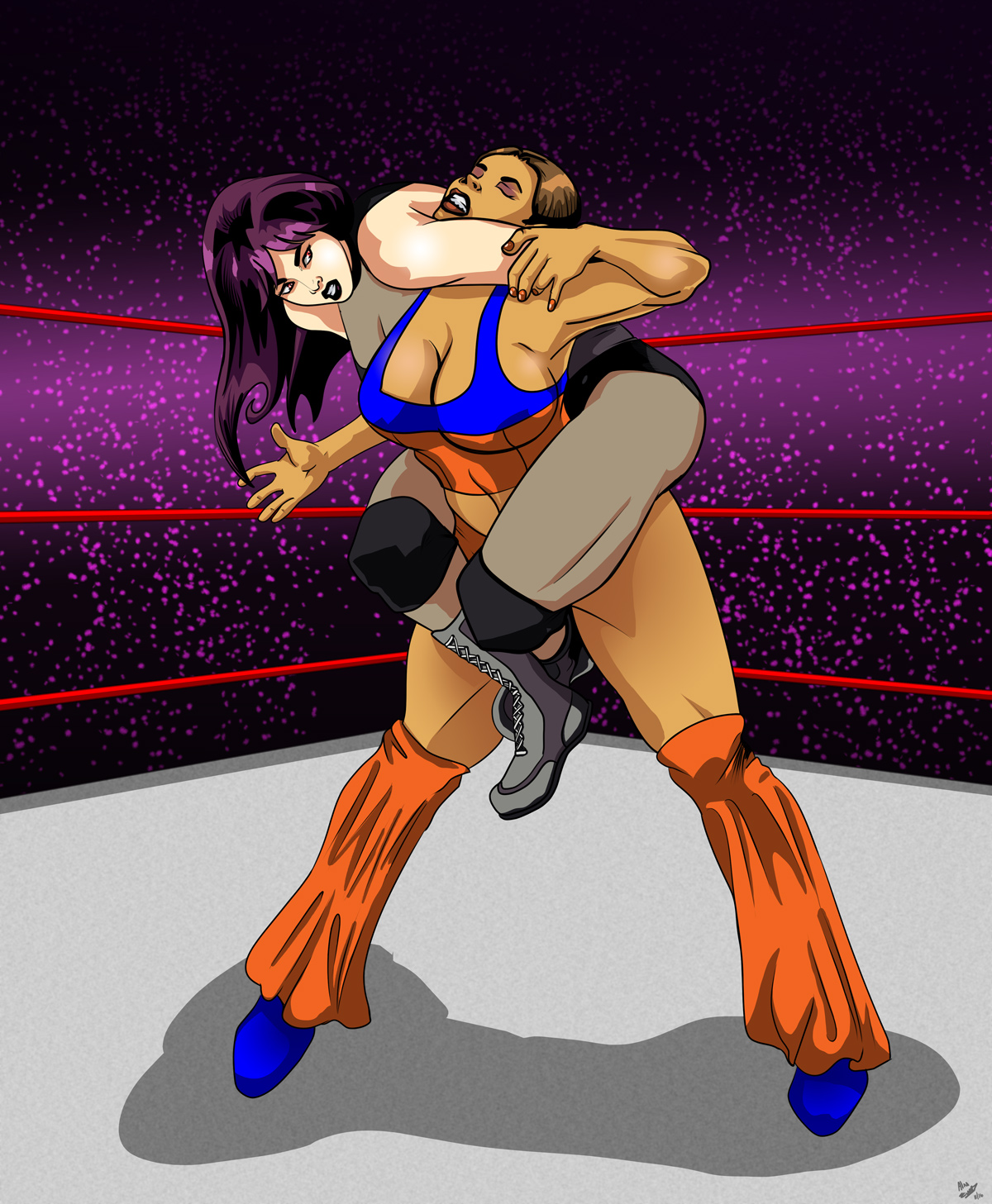 Commission Monday – Xtina vs Samiya