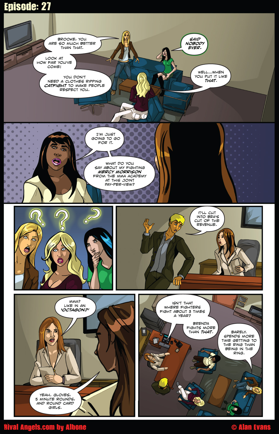 Chapter 05-Page 27-Octagon Catfight