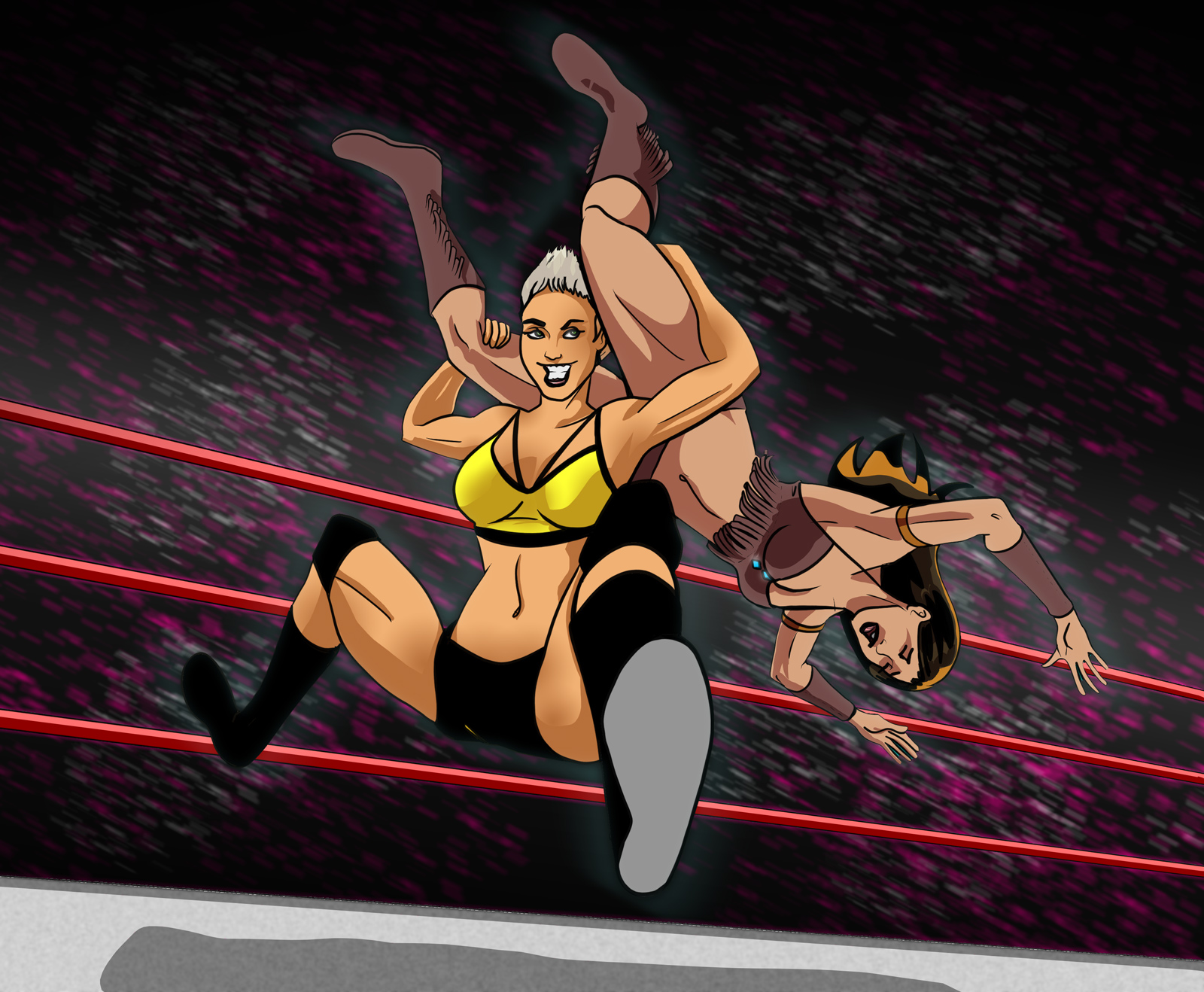 Commission Monday – Waterfall Facebuster