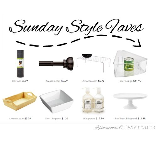 Sunday Style Faves - Kitchen Edition | 1-10-15 | Rhinestones& Sweatpants