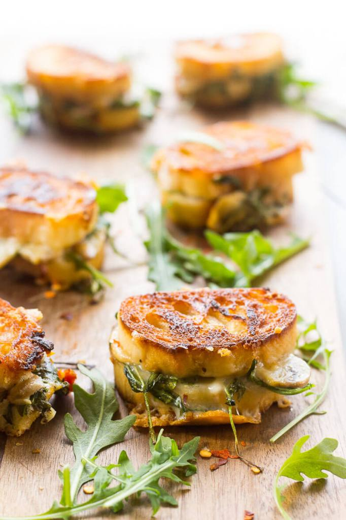 Mini Grilled Cheese Sandwich Appetizers by The Girl On Bloor