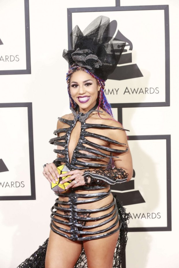 Joy-Villa--2016-GRAMMY-Awards
