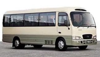 County Bus - for 25 passengers - Private Bus Transportation