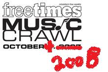 Updated:Awesome Line Up at Music Crawl