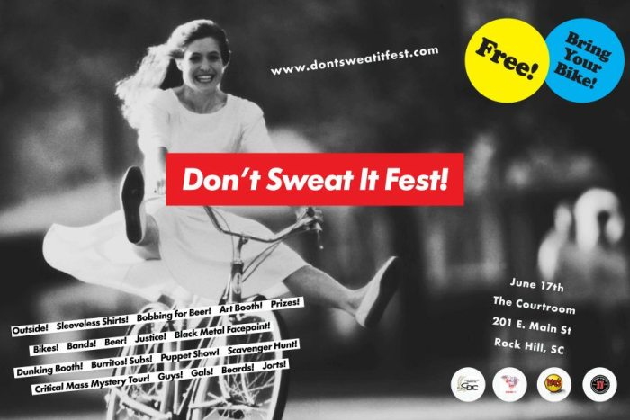 Dont Sweat It Fest at The Courtroom