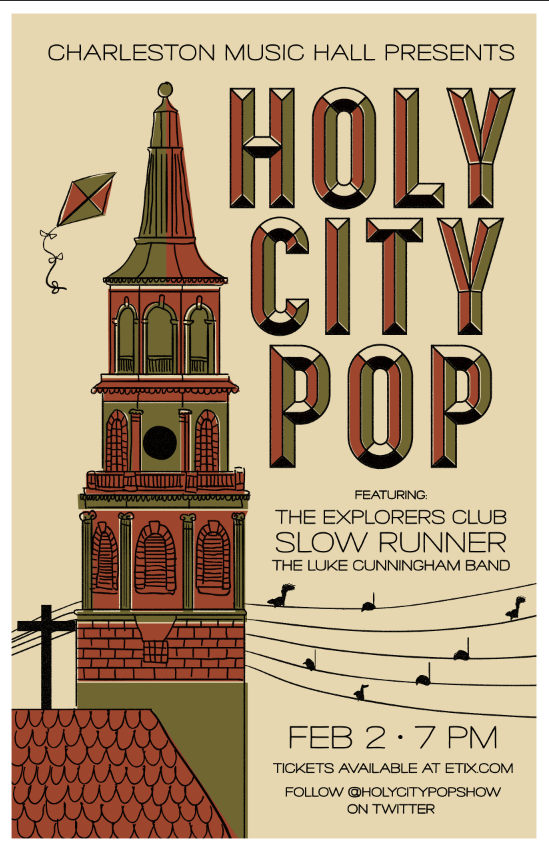 POSTER holy city pop