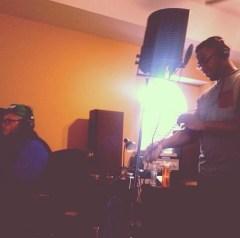Douggy in the studio.