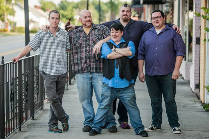 From Left to Right: Wayne Cousins, John Gibson, Jenn Snyder, Joe Coughlin, and Topher Riddle.