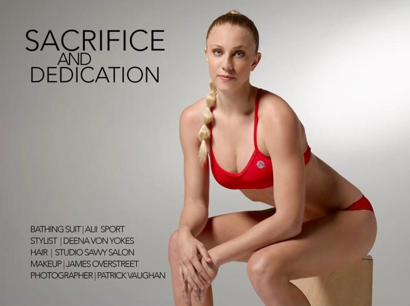 Studio Savvy's athletic wear photo shoot