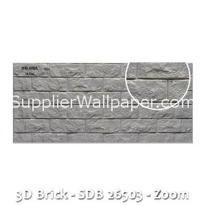3D Brick - SDB 26503 - Zoom