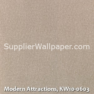 Modern Attractions, KW10-0603