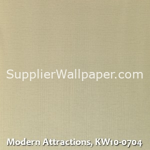 Modern Attractions, KW10-0704