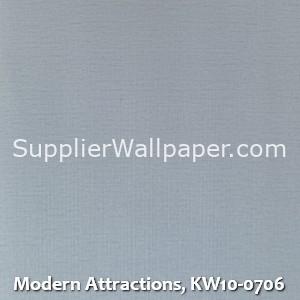 Modern Attractions, KW10-0706