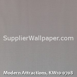 Modern Attractions, KW10-0708